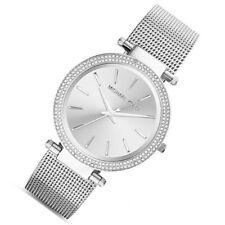 a9619571bdf3 100%25 New Michael Kors Silver Darci Stainless Steel Bracelet Women s Watch  MK3367