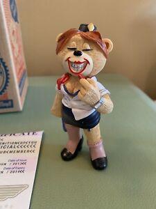 Bad Taste Bears - Dolly, Club Membership 2013. The Naughty Airline Hostess