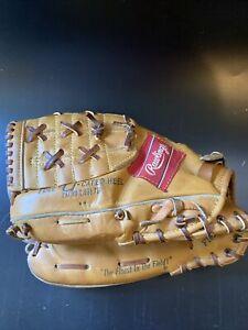 Vintage Brooks Robinson Rawlings XFCB 17 Baseball Glove Mitt USA Fastback Nice