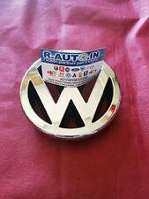 VW GOLF 4° 1998-> TARGHETTA FREGIO SIGLA Badge EMBLEM CROMATO ANTERIORE