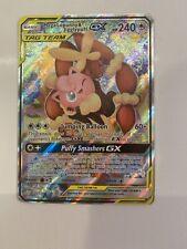 Pokemon - Mega Lopunny & Jigglypuff GX Full Art 226/236 - SM Cosmic Eclipse - NM