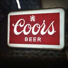 Vintage original Coors Outdoor Double Sided Lighted Sign