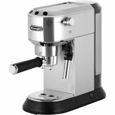 De'Longhi EC685.M Dedica Traditional Pump Espresso Coffee Machine 15 bar Silver
