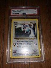 Lugia PSA 7 HOLO 2000 P.M. Neo Genesis #9 NM Pokémon Card