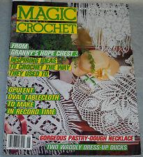 Magic Crochet Magazine No 54 June 1988 From Granny's Hope Chest