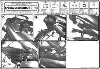 SR78 GIVI ATTACCO BAULETTO MONOLOCK per APRILIA SR 50 DITECH 1997 1998 1999 2000