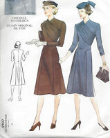 1939 Vintage VOGUE Sewing Pattern B36 DRESS (R826)