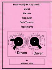 How to Adjust Stop Works Urgos Hermle Kieninger Seth Thomas Movements - *Pdf*