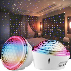 LED Star Projector Night Light Twinkle Starry Projection for Baby Kids Bedroom