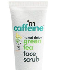 Mcaffeine Naked Detox Green Tea Face Scrub | Exfoliation | Vitamin C | 100ml fs