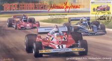 1977 FERRARI WOLF-COSWORTH BRABHAM ALFA ROMEO F1 cover signed MAURO FORGHIERI