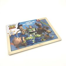 NEW Sealed Disney Toy Story Wood Picture Frame 12 Piece Wooden Puzzle Age 2+