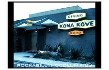 Tiki Póster 11x17 Polinesio Kona Kova Cocktail Bar Retro Kustom Kulture