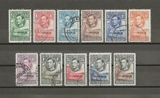 More details for bechuanaland 1938 sg 118/28 used cat £100