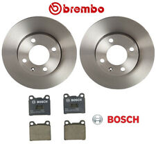 For VW Rabbit For Audi Fox Brake Kit Front Brembo Brake Rotors with Bosch Pads