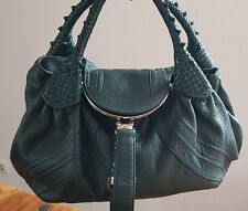 Fendi Spy Bag Tasche Grün wunderschönes weiches Leder