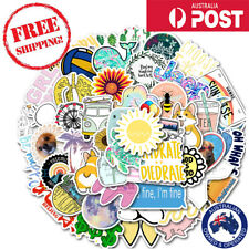 50pcs Sun INS Style VSCO Cute Vinyl Decal Stickers Laptop Waterproof Phone