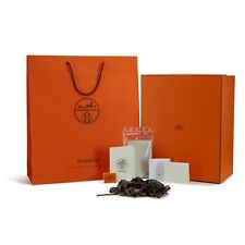 """BRAND NEW, MINT Authentic Hermes XL Box Gift Set + Extras 12.5"""" x 15.5"""" x 7.25"""""""