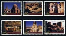 UN - Geneva 2005 Egypt World Heritage . Booklet Singles/6 . Mint Never Hinged