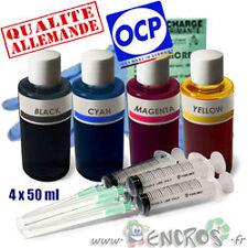 Recharge Kit Encre 4x50ML Couleurs 1er PRIX compatible CANON MG