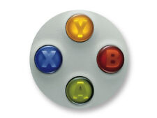 "Pin Button Badge Ø25mm 1"" Manette Pad Controller Joystick Retro Game Xbox360"
