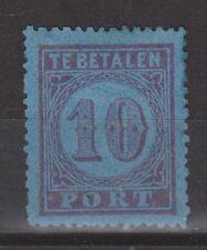 P2a Port nr 2 A ongebruikt MLH NVPH Netherlands Nederland Pays Bas due portzegel