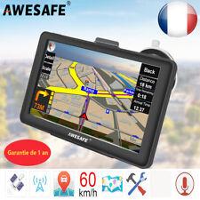"""7"""" Awesafe GPS Navigation pour Voiture Europe Carte Mise à jour Gratuit 8Go"""