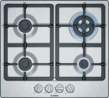 Bosch Series 4 PGH6B5B90 Hobs Stainless Steel Integrated Hob Of Gas - Plate