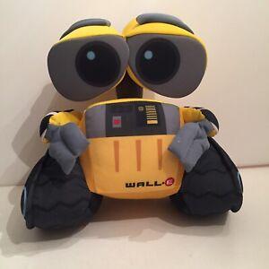 """Wall-E Robot Plush Thinkway Toys 9"""" Plush Disney Pixar - Preowned"""