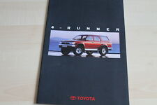 94448) Toyota 4-Runner Prospekt 10/1993