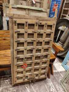 old used Vintage wooden doors window shutter reclaimed doors g