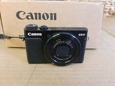 Canon G9 X MK II digital camera BLACK, refurbished, made in Japan