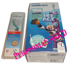 Philips Sonicare Rechargeable ToothBrush for Kids Ice Age With Replacement Heads