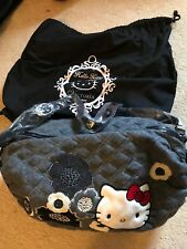 NWT Hello Kitty Victoria Couture Crossbody Roller Bag Retail $240