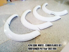 A2W Cool White Fender Flares Wheel Arch For FORD RANGER WILDTRAK PX T6 2012-2015