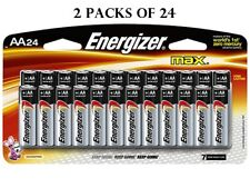 Energizer Max AA Alkaline Batteries - 48 Pack Expires 12/2028