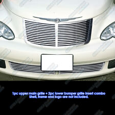 Fits 2006-2010 Chrysler PT Cruiser Perimeter CNC Cut Grille Grill Combo Insert