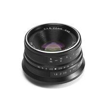 Obiettivo 7artisans 25mm f/1.8 per Olympus/Panasonic micro-4/3