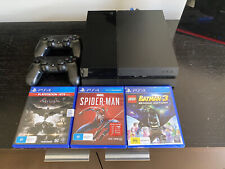 Sony Ps4 Console 500gb Bundle 2 Controllers + Cables  - PlayStation 4 + 3 Games