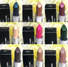 MAC Metallic Lipstick *CHOOSE SHADE* Limited Edition, HTF ~ 100% Authentic, BNIB