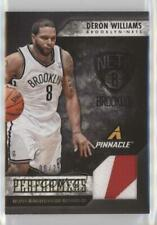 2013-14 Panini Pinnacle Performers Jerseys Prime /25 Deron Williams #41