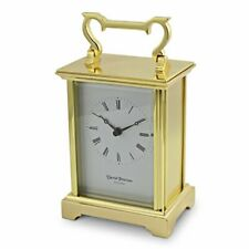David Peterson Q/L/AG Large  Anglais Carriage Clock with Quartz Movement
