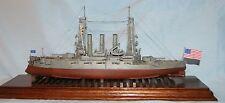 1/350 U.S.S. Ohio  BB-12 1910  Resin & Brass Model Kit