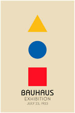 Bauhaus Poster Industrial Design German Modernism Large Wall Art