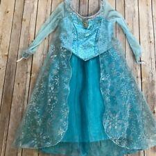 Official Disneyland Frozen Elsa Costume Dress Size Small (6)