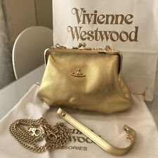 Vivienne Westwood nappa da sera pochette/catena Crossbody