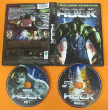 DVD movie L'INCREDIBILE HULK 2 disc special edition 2008 Tim Roth no vhs (D9)