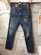 Men's Firetrap Denim Jeans Urban Steer Classic Blue Man Style 30 / 32 (1054)