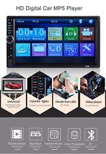 """7"""" AUTORADIO 2DIN STEREO AUTOV RADIO MP5 MP3 LETTORE FM USB BLUETOOTH TOUCH SCRE"""