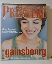 PREMIERE MAGAZIN (N°237) GAINSBOURG - ALBERT DUPONTEL - ATTAL - BERLING (CT289)